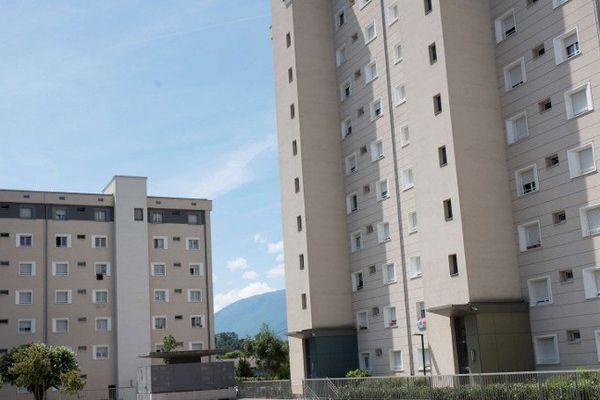 Le quartier où vivait Abdel Malik Petitjean à Aix-les-Bains