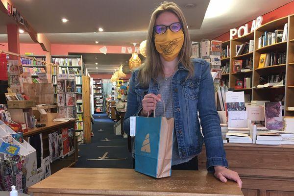 La librairie Des livres et nous, à Périgueux, conserve son Drive le matin, et ouvre ses portes aux clients l'après-midi.