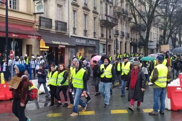 4500 Gilets jaunes avaient défilé dans Bordeaux le 15 décembre.