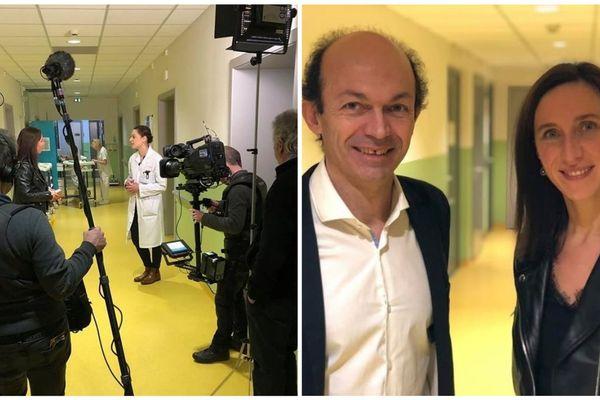 L'émission a été tournée dans le centre des troubles du sommeil, le CIRCSom, une entité du CHRU de Strasbourg. Le Professeur en Patrice Bourgin en est le chef de service, à ses côtés Ophélie Masure, présentatrice d'Enquête de Région.