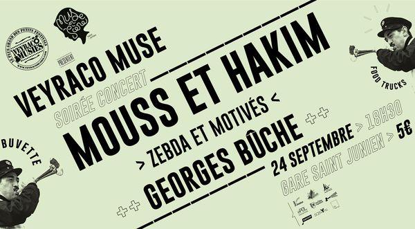 """Une soirée """"Veyraco Muse"""" organisée par les deux festival Les Veyracomusies et Muse en scène."""