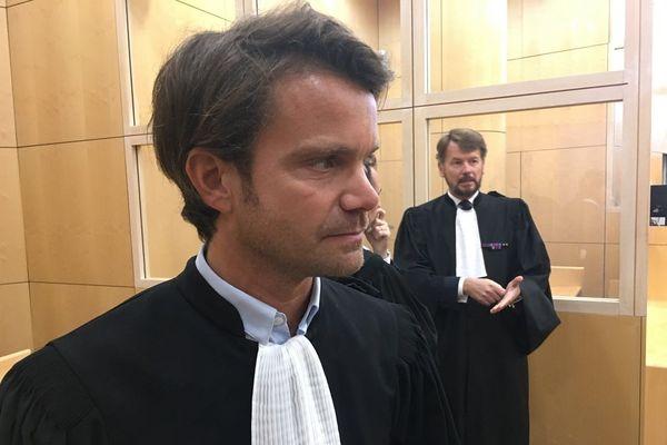 Maître Jean-Guillaume Le Mintier, avocat de la famille de l'élève officier mort noyé à Saint-Cyr-Coëtquidan