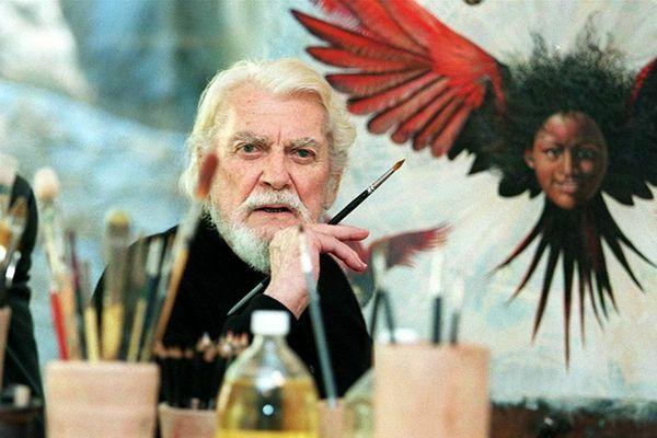 Jean Marais, peintre.