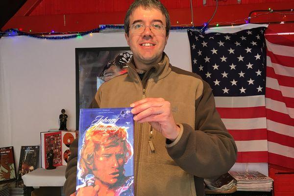 Olivier Bedouet réalise ses meilleurs ventes avec le cd album sur les premières années de la carrière de Johnny Hallyday.