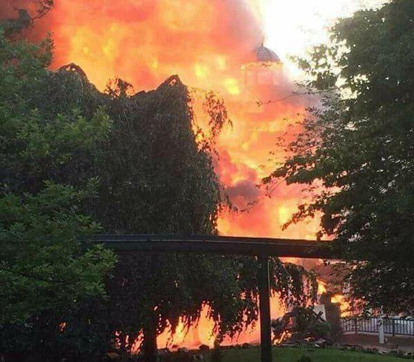 L'incendie du quartier scandinave.