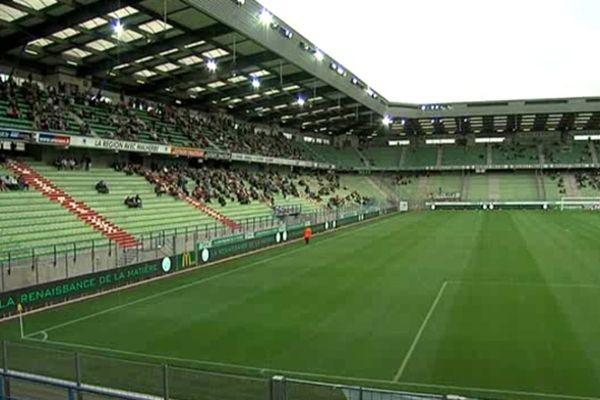 Cette saison, les tribunes du Stade Michel d'Ornano sont peu garnies