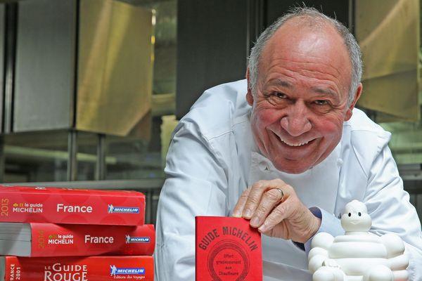Marc Haeberlin, chef de l'Auberge de L'ill, distinguée pendant 51 ans par le guide Michelin, mais pas en 2019