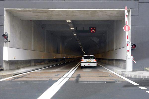 Le tunnel Maurice Lemaire relie l'Alsace et la Lorraine