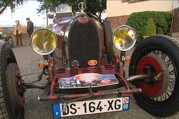 Une des Bugatti de légende