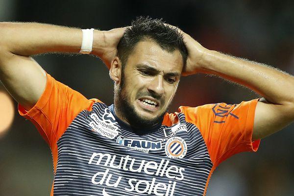 Gaëtan Laborde évolue en tant qu'attaquant, dans l'équipe de football de Montpellier, le MHSC.