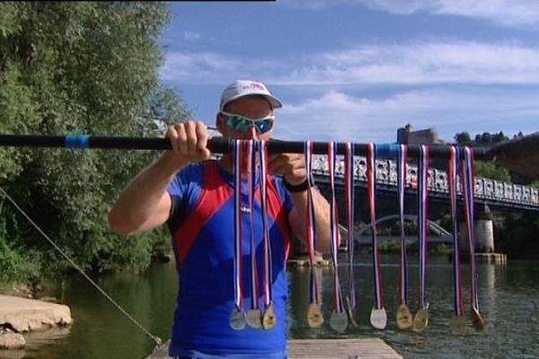 Le SNB, Sport Nautique Bisontin, a remporté 15 médailles aux championnats de France en Normandie