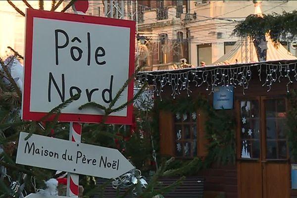 Parmi les incontournables, la visite au Père Noël, évidemment.