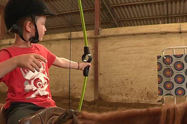 Equitation et tir à l'arc sont au programme