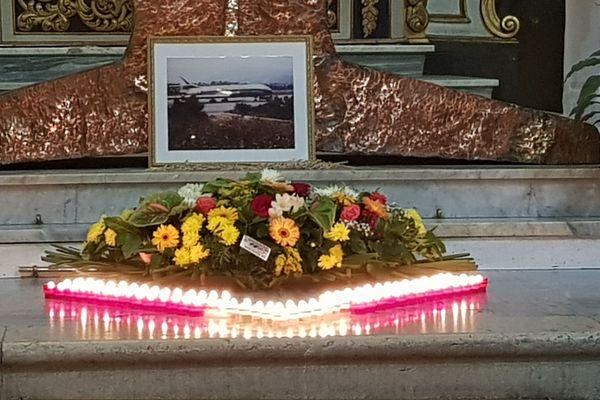 Ce matin, à Nice en l'église Sainte-Hélène