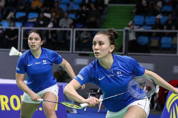Margot Lambert et Vimala Heriau ont joué le deuxième double français.
