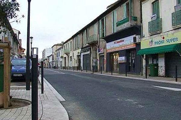 Nîmes - un homme de 27 ans tué par un coup de couteau lors d'une rixe - 1er janvier 2016.