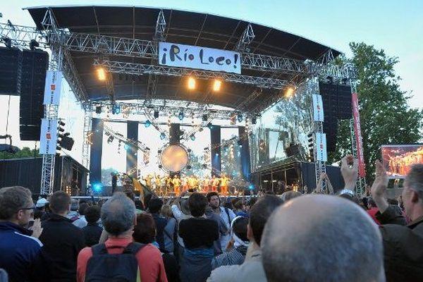 La prairie des filtres à Toulouse pour l'édition 2011 de Rio Loco