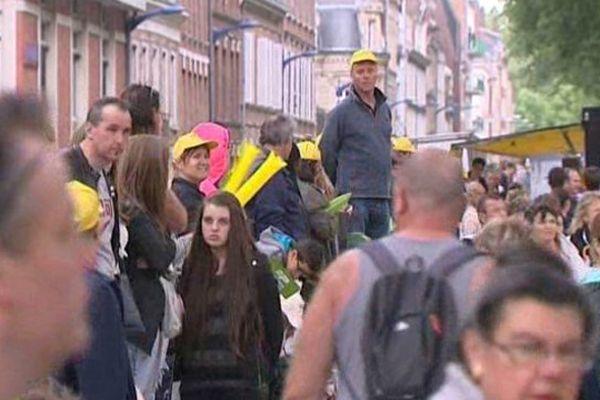 150 000 personnes étaient attendues aujourd'hui du côté d'Amiens.