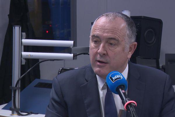 Le ministre de l'Agriculture Didier Guillaume