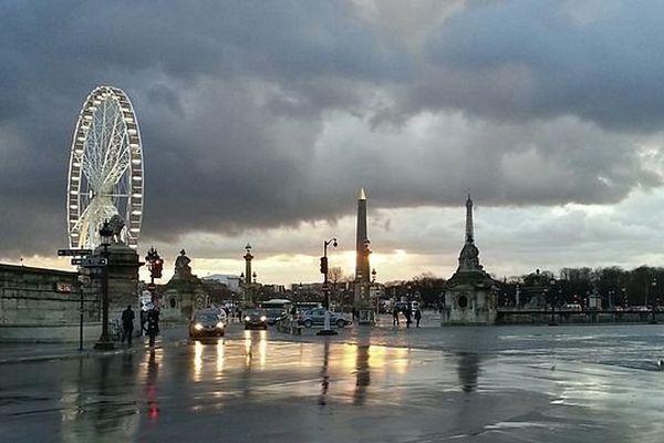 La place de la Concorde, à Paris.
