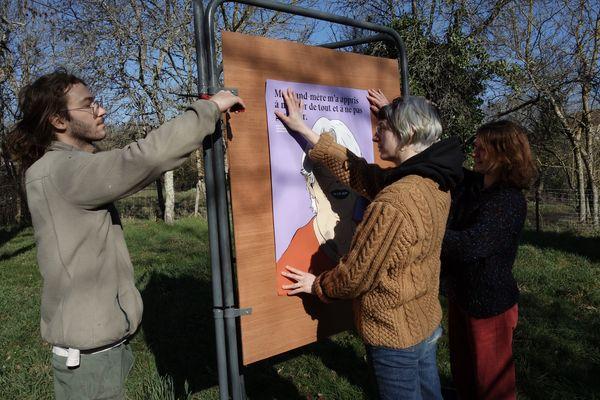 Dix portraits de femmes seront affichés du 1er au 31 mars dans 20 communes du Loiret.