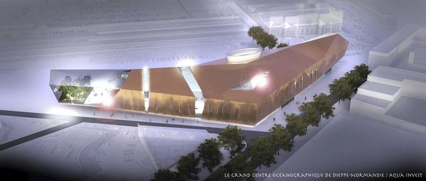 Le futur Centre Océanographique de Dieppe devrait accueillir 500 000 visiteurs par an
