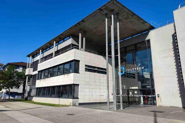 Les locaux de Polytech sur le campus de Saint-Martin-d'Hères