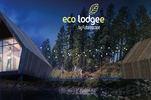 Au printemps 2023, les visiteurs pourront loger dans l'un des 120 éco-lodges d'une capacité de cinq personnes.
