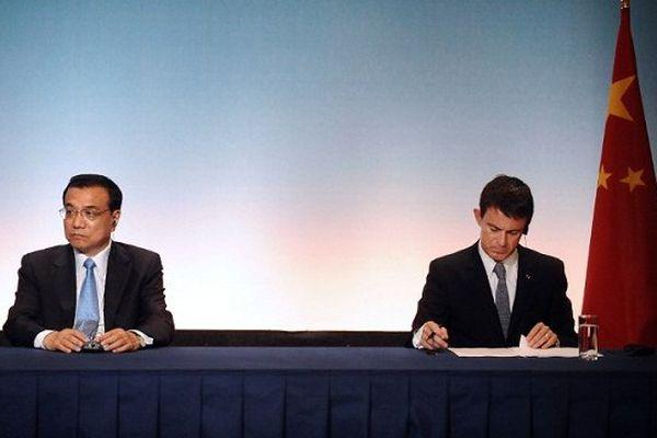 De nombreux partenariats ont été signés jeudi à Toulouse au cours de la visite du premier ministre chinois, accompagné de Manuel Valls, le premier ministre français.