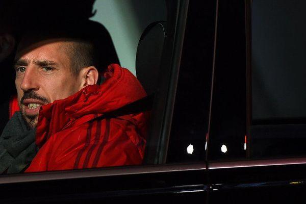 Franck Ribéry, le 25 novembre dernier.