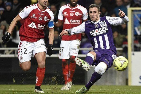 Le Serbe Aleksandar Pesic sous les couleurs de Toulouse