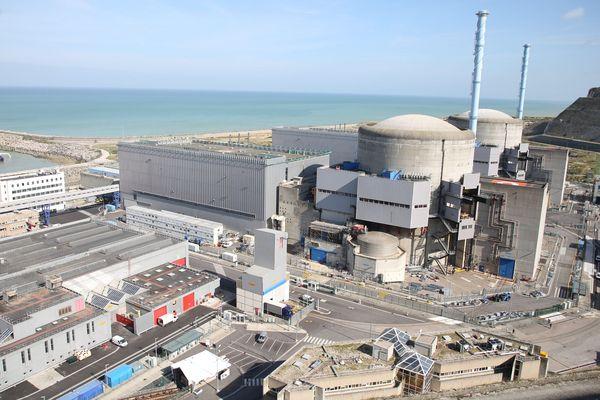 La centrale nucléaire de Penly compte deux réacteurs