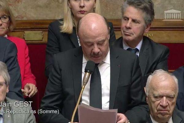 Alain Gest a été député de la Somme à plusieurs reprises, notamment entre 2002 et 2017.