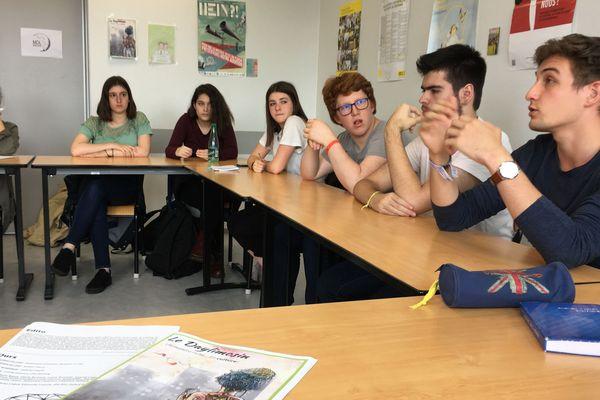 Apprentis reporters du lycée Léonard Limosin de Limoges