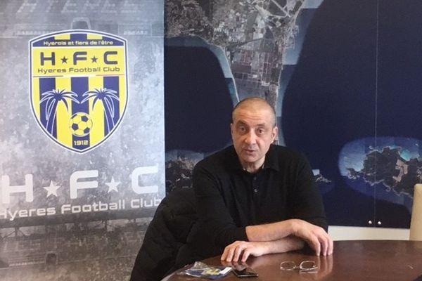 C'est fait !Mourad Boudjellal vient de rejoindre le projet du Hyères FC de mardi 2 février.
