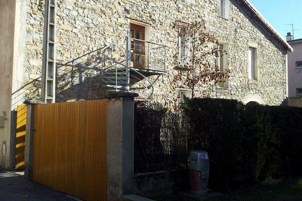 Le drame s'est joué dans cette maison à Millau