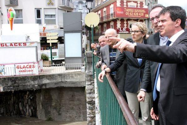 Manuel Valls et Delphine Batho à Lourdes ce mercredi