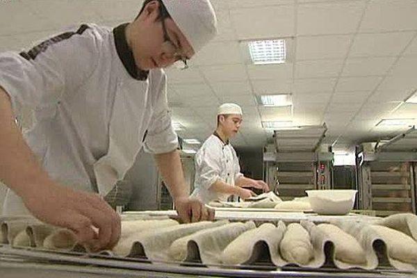 Boulangerie et pâtisserie sont deux formations dispensées au Lycée Rabelais de Ifs (Calvados)
