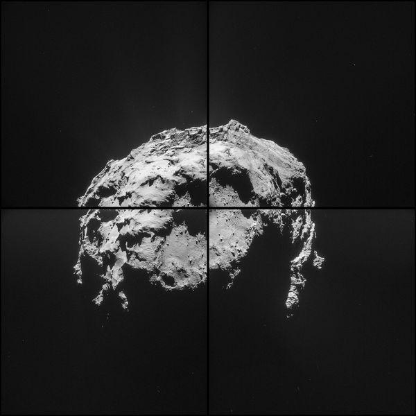 Tchouri photographié par Rosetta