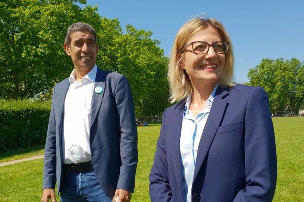 François Astorg et Frédérique Lardet ont officialisé la fusion de leurs listes le 31 mai 2020.