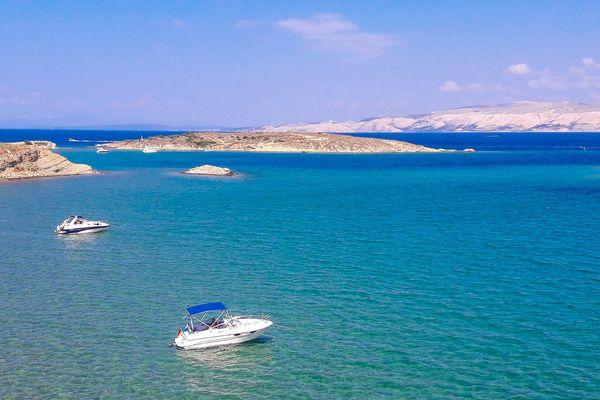 Illustration : île de Rab en Croatie