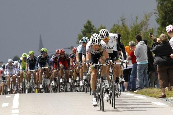 Le Tour de Normandie en 2011 à Lisieux.