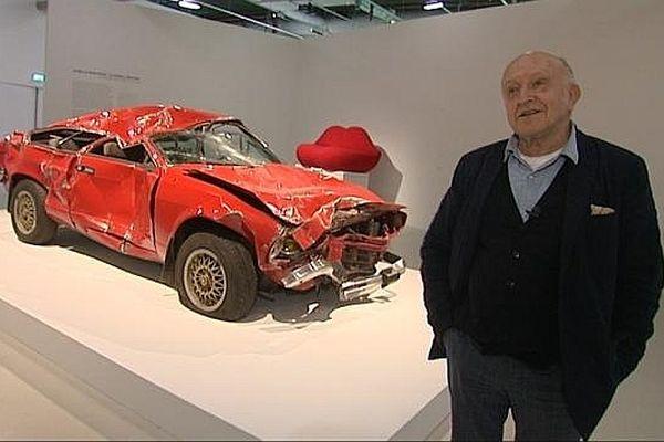 Bertrand Lavier expose à Beaubourg jusqu'au lundi 7 janvier 2013.