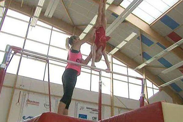 Les gymnastes ont pu reprendre leurs marques dans la grande salle.
