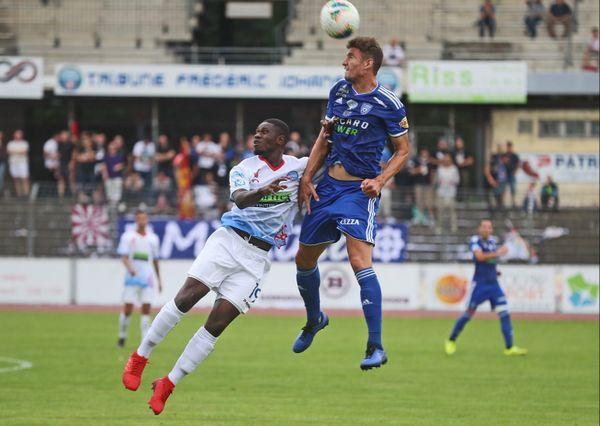 Illustration - FC Mulhouse - SCB le 17 août 2019 au stade de l'Ill