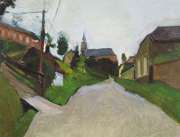 """""""Lesquielles St Germain"""", par Henri Matisse en 1903"""