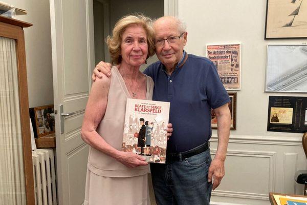 Beate et Serge Klarsfeld ont épaulé le scénariste malouin dans l'écriture de ce roman graphique qui retrace les 45 années qu'ils ont passées à traquer les nazis