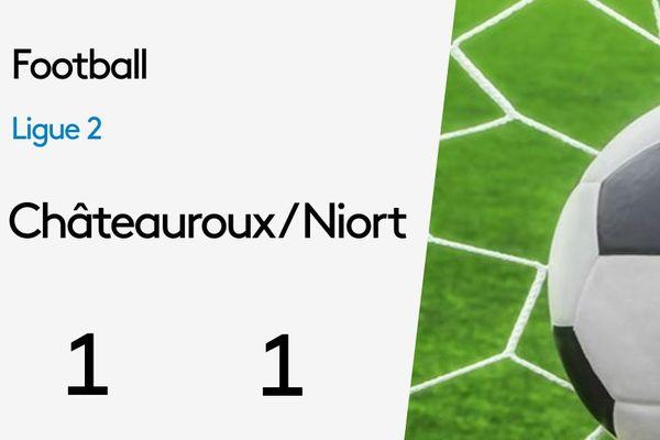 Châteauroux-Niort 1/1