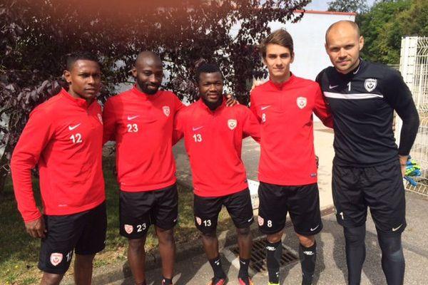 Christophe Mandanne, Anthony Koura, Serge N'Guessan, Vincent Marchetti, Sergey Chernik.