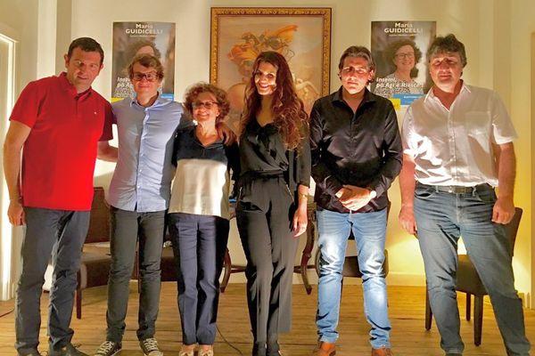 Législatives – Marlène Schiappa soutien des candidats La République en Marche en Corse du Sud